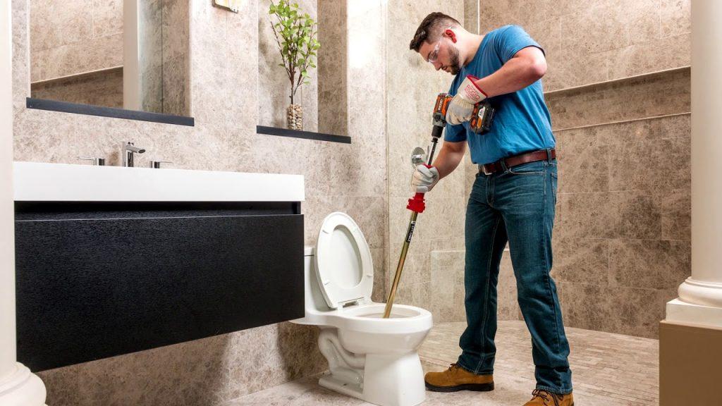 Sonda para destapar baños