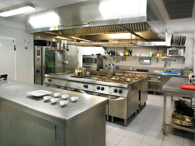 trampa de grasa en cocina