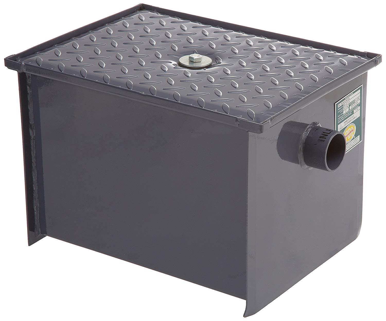 Trampa de Grasa de Acero al Carbon color gris