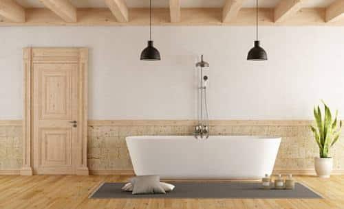 Consideraciones al elegir las puertas para baño de madera
