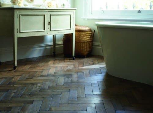 Pisos de madera para baños