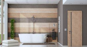 Puertas para baño de madera ¿Cual elegir?
