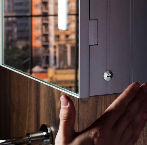 gabinetes con Sensores infrarrojos