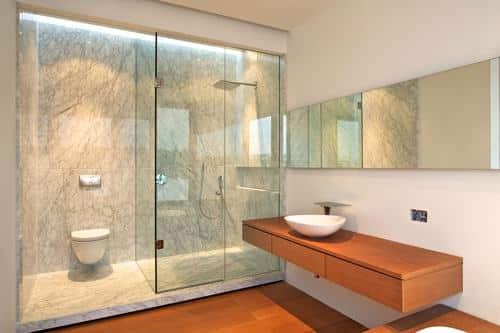 Canceles de baño de cristal templado: Funciones